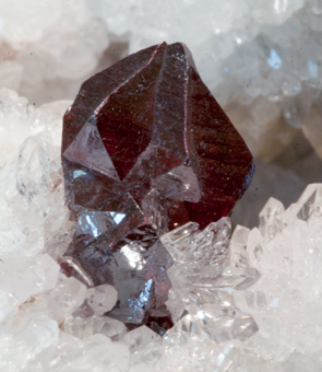 Cinnabar, Quartz - Tongren mine, Tongren Prefecture, Guizhou Province, China