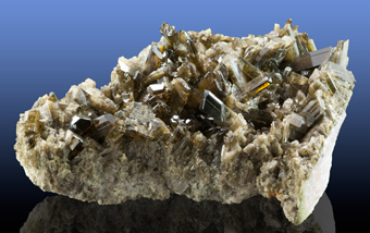 Clinozoisite - Tormiq Valley, Haramosh Mts, ,Baltistan, Pakistan