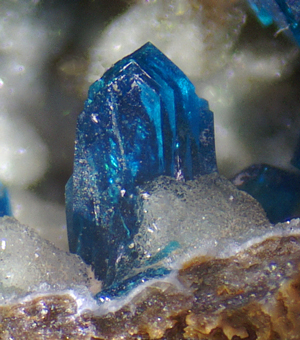 Veszelyite - Laochang ore field, Gejiu Co., Yunnan Province, China
