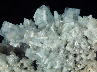 Baryte - Moscona mine, Villabona mining area,  Asturias, Spain