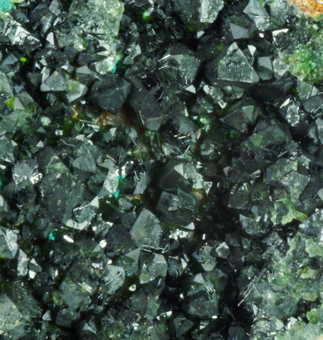 Libethenite - Kabwe mine, Kabwe, Zambia