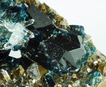 Lazulite, Siderite, Quartz - Cross Cut Creek area, Yukon, Canada