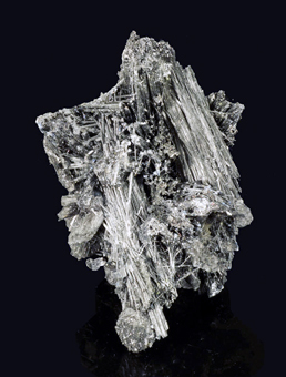 Andorite, Zinkenite - San José mine, Oruro City, Oruro Department, Bolivia