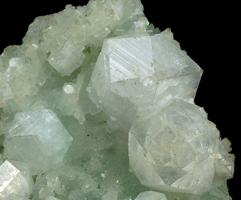 Aphophyllite - Poona quarries, Poona, Maharashtra, India