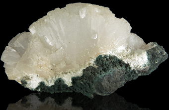 Heulandite - Poona quarries, Poona, Maharashtra, India