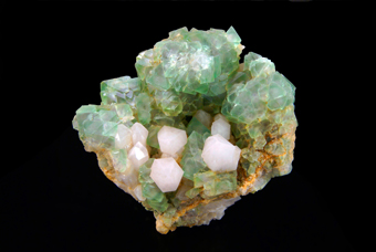 Fluorite and Quartz - Riemvasmaak - Northern Cape Province, South Africa