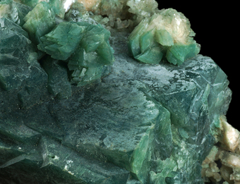 Apophyllite, Celadonite -Jalgaon, ,Maharastra, India