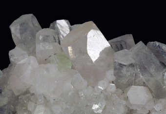 Calcite and Fluorite - Fuzichong ore field,Guangxi, China