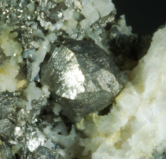 Arsenopyrite, Stolemberg mine, Gressoney-la-Trinité, Valley of Aosta, Italy.
