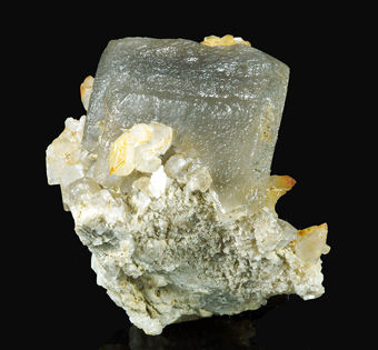 Calcite with Quartz - Aurina valley, Trentino Alto Adige, Italy