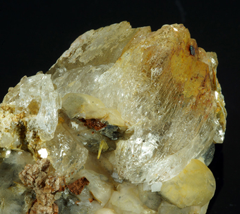 Ankerite with Calcite, Quartz and Mica, Formazza valley, Lombardy, Italy