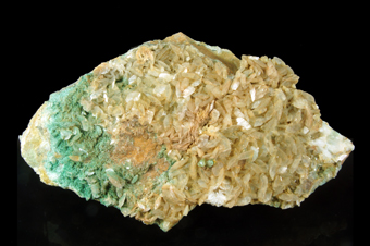 Magnesite with Fuchsite and Quartz - Mompé Medel gallery, Grichun, Switzerland