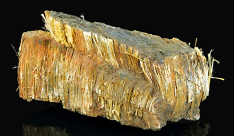 Amosite (TL) and Grunerite, Penge mine, Limpopo Province, South Africa