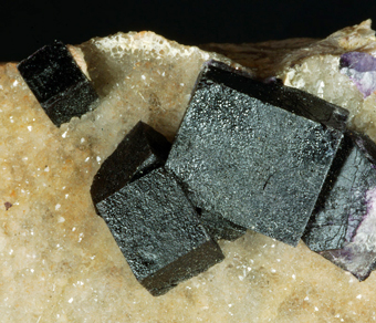 Fluorite - Rossport area, Thunder Bay District, Ontario, Canada