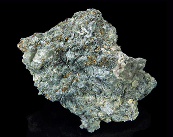 Cummingtonite,Brosso Mine, Brosso,Piedmont, Italy