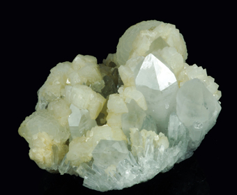 Calcite and Quartz - Turt mine, Satu Mare, Maramures Co., Romania
