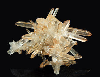 Quartz and Hematite - Jinlong, Heyuan Prefecture, Guangdong Province, China