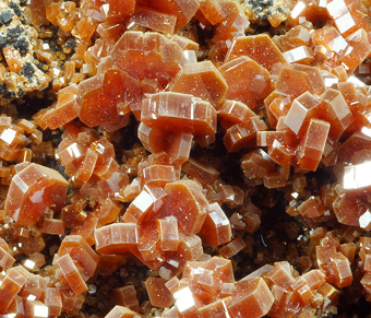 Vanadinite - ACIF mine, Mibladen, Khenifra District, Morocco