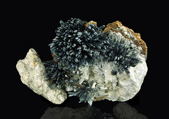 Stibnite - Chashan Mine, Nandan Co., Guangxi Zhuang Autonomous Region, China