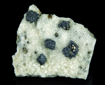 Myargirite - San Genaro mine, Castrovirreyna District, Huancavelica Department, Peru