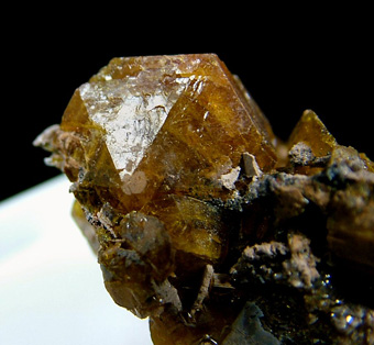 Sturmanite - N'Chwaning III Mine, N'Chwaning Mines, Kuruman, Kalahari manganese field, Northern Cape Province, South Africa