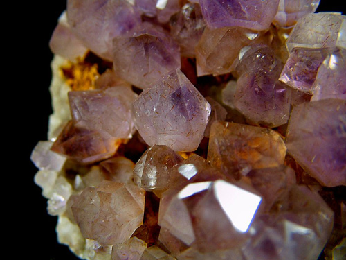 Amethyst Quartz - Amethyst locality, Ankijabe, Ambilobe District, Diana Region (Northern Region), Antsiranana Province, Madagascar