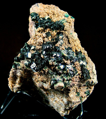 Libethenite - Katanga Copper Crescent, Katanga (Shaba), Democratic Republic of Congo (Zaïre)