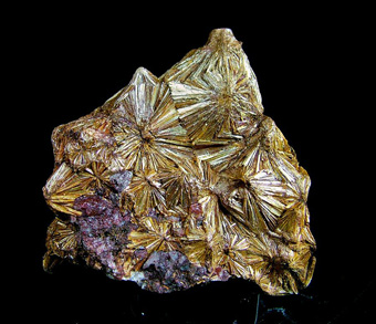 Pyrophyllite - Indian Gulch Mine, Santa Cruz Mountain, Hornitos District, West Belt, Mariposa Co., California, USA
