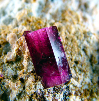 Red Beryl - Wah Wah Mts, Beaver Co., Utah, USA