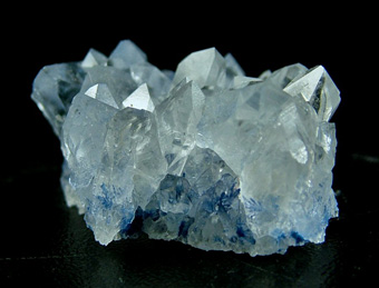 Quartz with Dumortierite's inclusions - Vaca Morta quarry, Serra da Vereda, Boquira, Bahia, Brazil