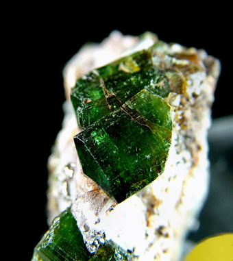 Chrome-Tourmaline (Dravite) with Pyrite - Commander Mine, Nadonjukin, Simanjiro District, Manyara Region, Tanzania