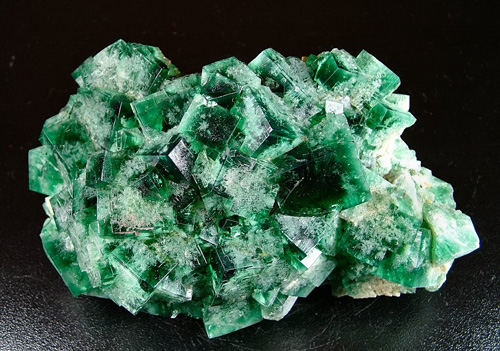 Fluorite - Rogerley Mine, Rogerley Quarry, Frosterley, Weardale, North Pennines, Co. Durham, England, UK