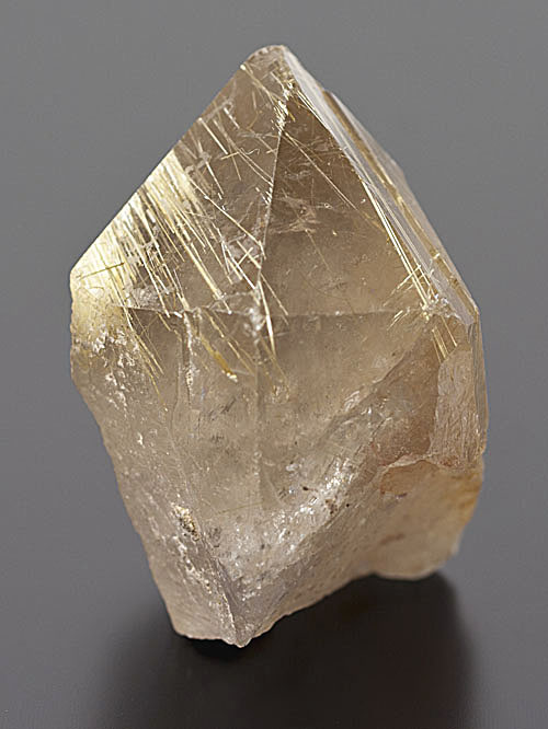 Quartz var. Rutilated Quartz - Diamantina, Minas Gerais, Brazil
