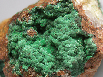Malachite - Aouli, Upper Moulouya lead district, Midelt, Khénifra Province, Meknès-Tafilalet Region, Morocco
