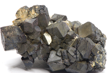 Magnetite - Brosso Mine, by Lessolo, Chiusella Valley, Province of Torino, Piedmont - Italy