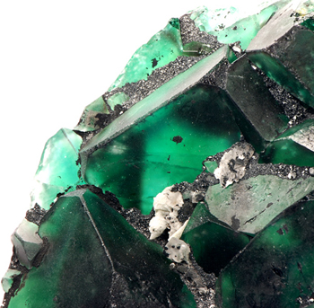 Fluorite - Erongo Mountain, Usakos and Omaruru Districts, Erongo Region, Namibia