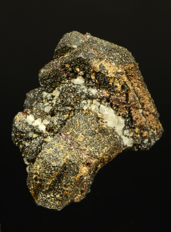 Cassiterite pseudo after Orthoclase - Wheal Coates, St Agnes, Cornwall, England, UK