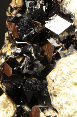 Melanite - Clear Creek area, San Benito co., California, USA