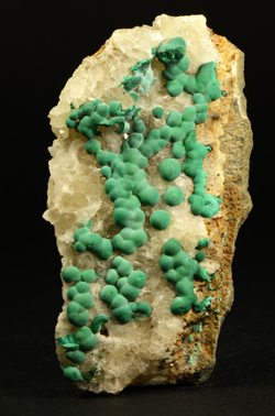 Malachite on Quartz - Bouque Payrol (