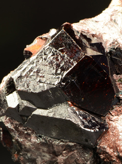 Rutile - Graves Mountain, Lincoln Co., Georgia, USA