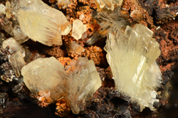 Tarbuttite - Broken Hill Mine, Kabwe, Central Province, Zambia