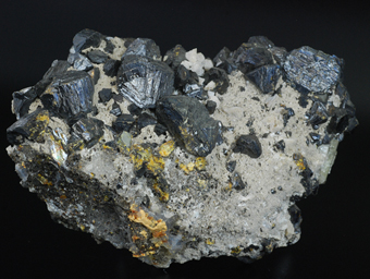 Sphalerite and calcite - Swalley mine - Baxter Springs - Picher Field - Tri-State distr. - Cherokee Co. . Kansas - USA