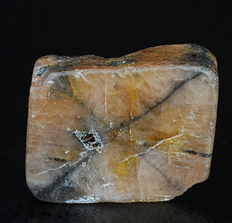 Andalusite (var. Chiastolite) - Sangping mine - Xixia Co. - Nanyang pref. - Henan prov. - China
