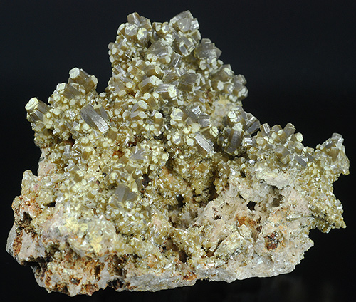 Endlichite (var. of Vanadinite) - Touissit - Oujda - Morocco (with VIDEO !)