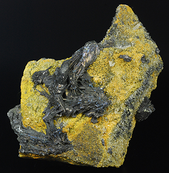 Andorite and zinkenite - San José mine - Oruro City - Cercado prov. - Oruro dept. - Bolivia