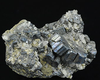 Bournonite, quartz and pyrite - Machacamarca - Machacamarca distr. - Cornelio Saavedra prov. - Potosí deptm - Bolivia