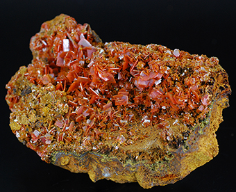 Wulfenite - Jianshan mine - Kurugtag Mts - Xinjiang Region- China