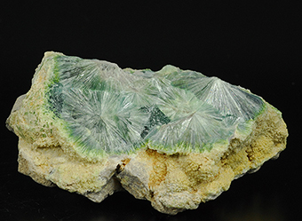 Wavellite - Mauldin Mountain quarries - Mauldin Mt. - Montgomery Co. - Arkansas - USA