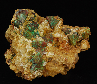 Cuproromeite ps. after tetrahedrite - El Coriellu mine - Llerandi - Asturias - Spain