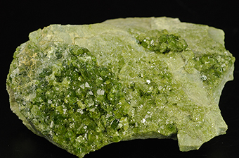 Vesuvianite - Bellecombe - Aosta Valley - Italy